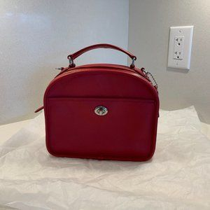 COACH Lunch Pail in Retro Smooth Calf Bag Red